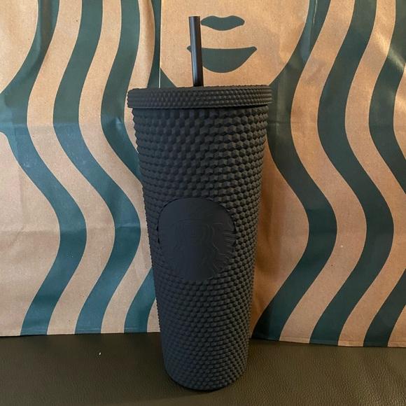 Starbucks Black Studded Matte Tumbler- 24oz